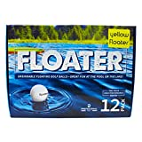 #2: PG Professional Golf Floater New Floating Yellow Golf Balls (Pack 12)