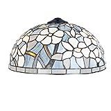Lumilamp 5LL-5806 Lampenschirm Glasschirm Tiffany-Stil ca. Ø 40 cm