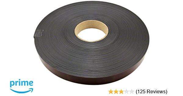 Magnet Expert 25mm wide x 1 5mm thick Magnetic Tape with Premium Self  Adhesive - Polarity B ( 1m Length )