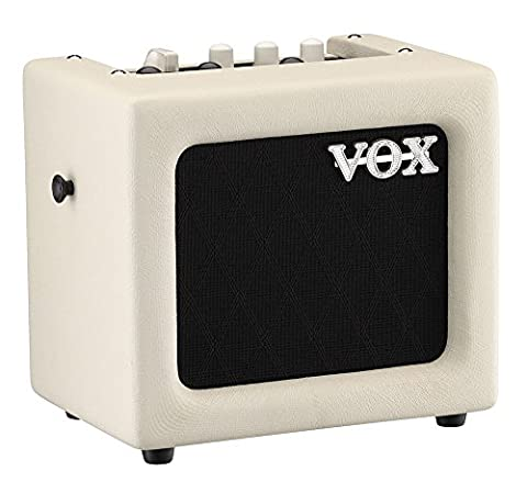 VOX MINI3-G2IV 3 W Mains/Battery Modelling Amplifier with Effects - Ivory Finish