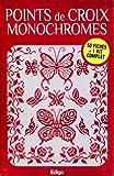 Telecharger Livres Points de croix monochromes Coffret de 50 fiches 1 kit complet toile aiguille fils 3 charms et 5 perles (PDF,EPUB,MOBI) gratuits en Francaise