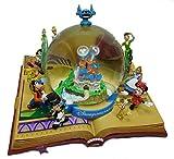 Disney Disneyland Paris DLP Diorama Szene Schneekugel Libro Mickey Schloss Alice