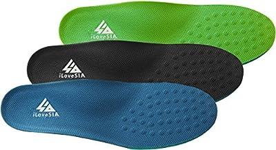 iLoveSIA® 3 Paare Einlegesohlen Komfort Fußgewölbe Schuh Einlagen