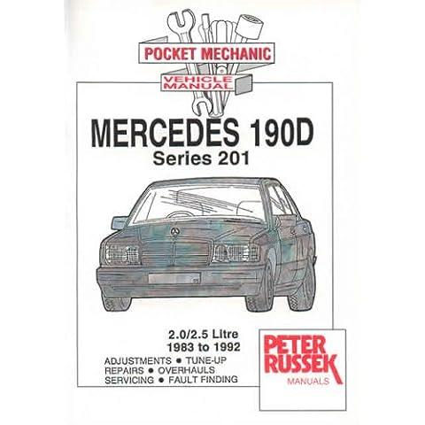 Mercedes-Benz 190D, 190D 2.5, Series 201, Diesel Models: 1983 to 1992