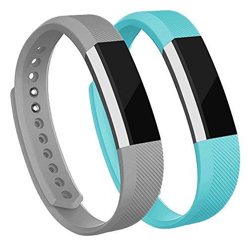 AdePoy Ersatzarmbänder kompatibel für Fitbit Alta/Alta HR, Verstellbare Sport Smartwatch Fitness Armband für Frauen ()