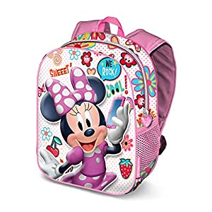 51fNIAzfklL. SS300  - Karactermania Minni Mouse Ohmy!-zaino 3D (Piccolo) Mochila Infantil 31 Centimeters 8.5 Multicolor (Multicolour)