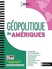 estimation pour le livre Géopolitique des Amériques