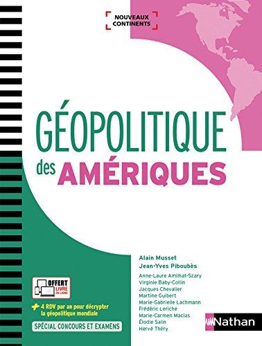 Géopolitique des Amériques par Virginie Baby-Collin