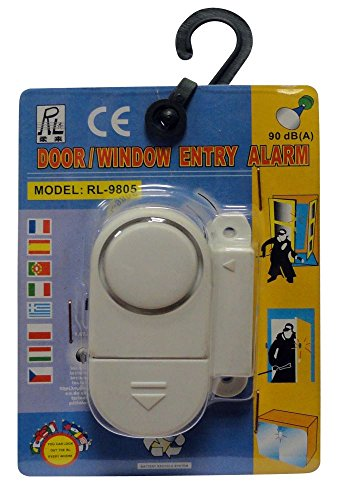 TOOLUSA Wireless Window Door Magnetic Entry Safety Security Alarm