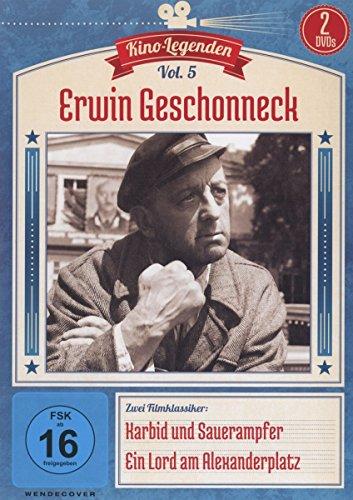 Erwin Geschonneck - Karbid und Sauerampfer/Ein Lord am Alexanderplatz - Kino-Legenden Vol. 5 [2 DVDs]