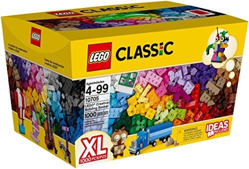 LEGO Classic Cesta de construcción Creativa - Juegos de construcción, 4 año(s), 1000 Pieza(s), Niño/niña, 99 año(s)