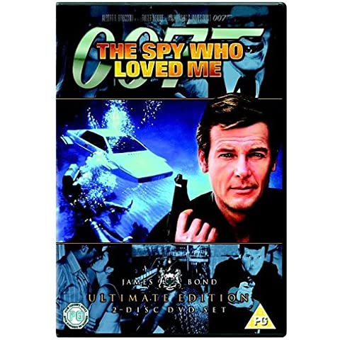 James Bond - The Spy Who Loved Me (Ultimate Edition 2 Disc Set) [DVD] [1977] by Roger Moore