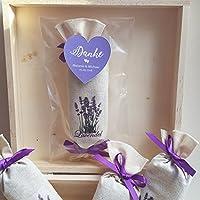 5 Lavendel Lavendelsäckchen Duftsäckchen Gastgeschenke Schön, dass Du da bist Hochzeit Duftsäckchen Personalisiert
