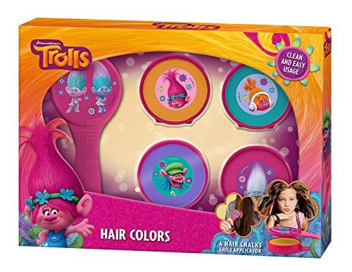 """Hairific Hair Colors - Troll\'tastische Haarkreide Für Kinder Von\""""Trolls\"""""""