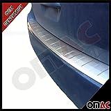 OMAC Ford C-Max II ab 2010 Chrom Ladekantenschutz Gebürstet Edelstahl mit Abkantung