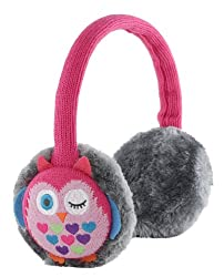 Kitsound Audio Earmuffs For Iphone, Ipod, Ipad Mini & Mp3 Player - Owl Design