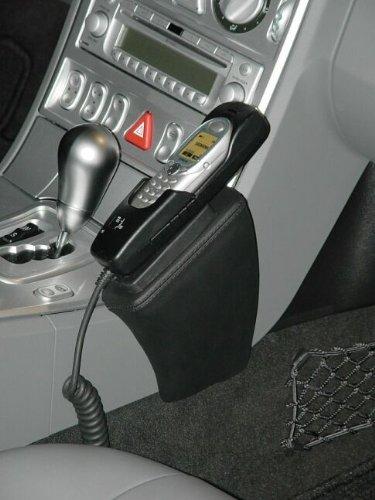 KUDA 099270 Halterung Echtleder schwarz für Chrysler Crossfire ab 10/2003 bis 2007 (USA u. BRD) (Kuda Usa)