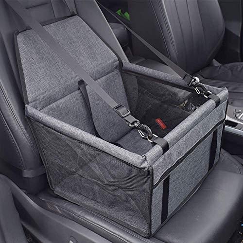 Ruixi seggiolino auto per cane coprisedile per cane animale borsa anteriore singolo coperta telo per proteggere sedile di automobile impermeabile grigio scuro