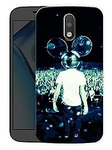 "Humor Gang Deadmau5 We LovePrinted Designer Mobile Back Cover For ""Motorola Moto G4"" (3D, Matte Finish, Premium Quality, Protective Snap On Slim Hard Phone Case, Multi Color)"