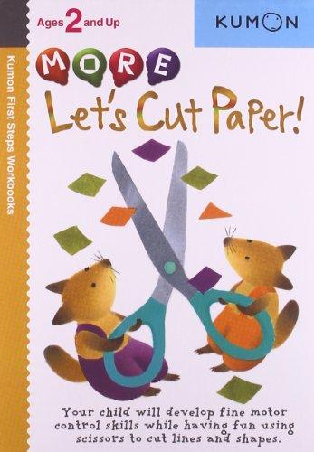 More Let's Cut Paper! (Kumon First Steps Workbooks) por Akaishi Shinobu