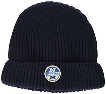 North Sails 621600, Berretto Uomo, Blu (Navy), One Size (Taglia Produttore:One Size)