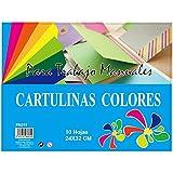 MP PN211 - Pack de 10 cartulinas, 160 gr, multicolor