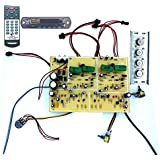 Tech And Trade 350 W DIY 2N3055 Transistor Based Audio Amplifier Car Stereo Board Bass Treble Control Transistor Assembly And Bluetooth Module 4440
