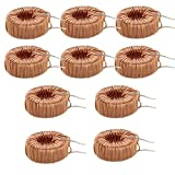 #10: HITSAN 50pcs 330UH 3A Toroid Core Inductor Wire Wind Wound One Piece