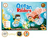 Best Educational Insights Card Games - LogicRoots OCEAN RAIDERS math game - STEM toy Review