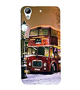 Vizagbeats double decker bus Back Case Cover for HTC Desire 728g Dual::HTC Desire 728G::HTC Desire 728
