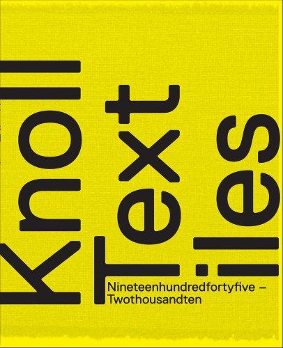 Knoll Textiles, 1945-2010 por Earl Martin