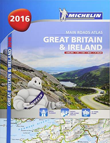 Great Britain & Ireland Atlas 2016 par Michelin
