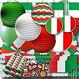 Italien Partydekoset groß