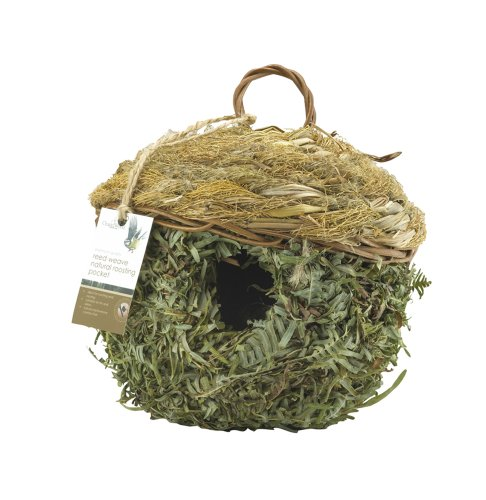 Solus Chapelwood Reed Weave Natural Roosting Pocket 1