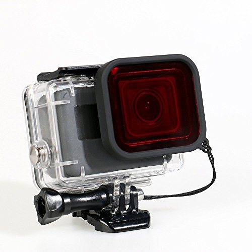 gopro-hero-5-gehause-case-rot-filter-schutz-wasserdicht-dive-gehause-fall-underwater-45-m