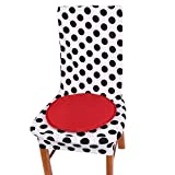 sourcingmap® Hause Büro Polyester Rund Form Seil gebunden Sitz Stuhl Kissen Pad rot 30cm Dmr.