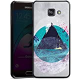 Samsung Galaxy A3 (2016) Housse Étui Protection Coque Cercle Triangle Triangle