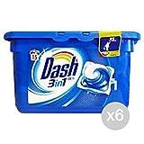 Set 6Dash LAV. 3in115ECODOSI Pods klassisch Waschmittel WASCHMASCHINE und Wäsche