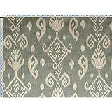 Tela de tapicería, tela de tapicería, tela de tapicería, tela, tela de la cortina, tela - Ramin, turquesa pastel - noble bicolor mezcla Oriental