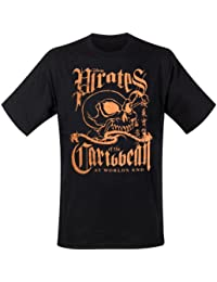 Pirates of the Caribbean - T-Shirt Oranges Skull (in L)