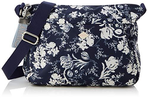 Oilily Damen Groovy Shoulderbag Lhz Schultertasche, Blau (Dark Blue), 10.0x23.0x29.0 cm