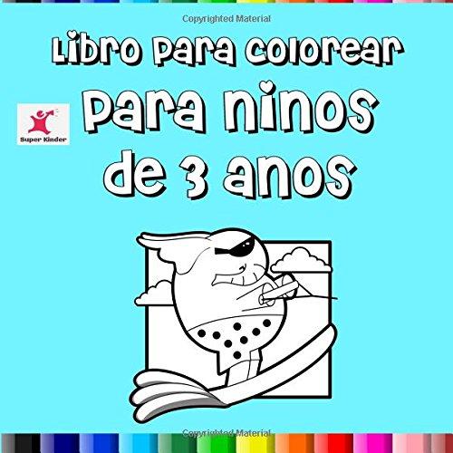 Libro para colorear para niños de 3 años