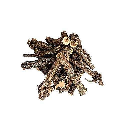 DESCENA Rebholz zum Grillen (20 St. à 30 cm): echtes Grillholz von der Weinrebe - Grillen mit echtem, unbehandeltem Holz