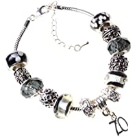 9a64b4b2a 70th Birthday Charm Bracelet with Complimentary Gift Box and 70th Birthday  Card