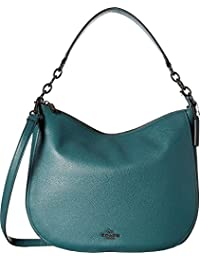 eaa0d9dd23a4 Coach Chelsea 32 Heather Grey Pebbled Leather Hobo Bag