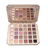 VWH 30 Farben Lidschatten Palette Profi Augenpalette Makeup Eyeshadow Kosmetik