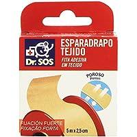 Dr. SOS Esparadrapo, Fijación Fuerte - 5 m