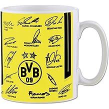BVB-Unterschriftentasse 2016/17 Gelb one size