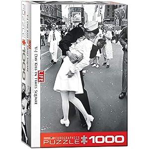 """Eurographics """"la Revista Life Que se besan en el Día VJ Puzzle (1000 Piezas"""