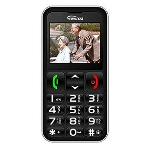 Telefono Cellulare con Tasti Grandi per Anziani YINGTAI GSM T11
